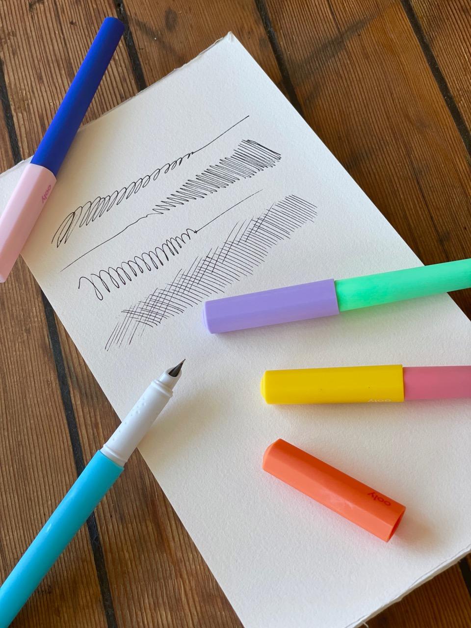Fab fountain pen set