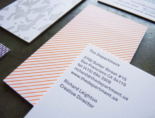 Business Cards with Patterns 2